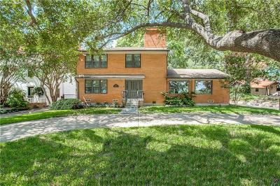 Dallas Single Family Home For Sale: 1139 N Plymouth Road
