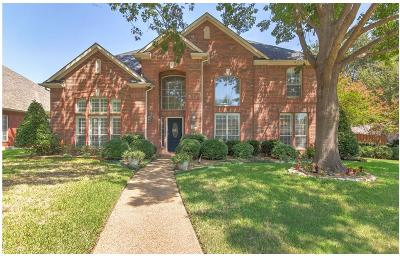 Coppell Single Family Home Active Option Contract: 110 Ridgewood Drive