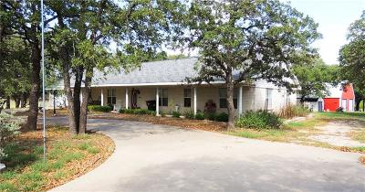 Weatherford Single Family Home For Sale: 1382 Russell Bend Road