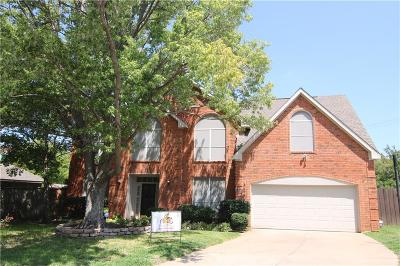 Grapevine Single Family Home For Sale: 1108 Rosewood Drive