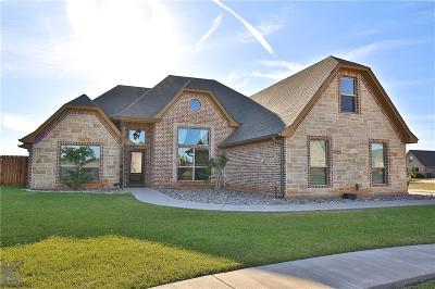 Abilene Single Family Home For Sale: 4650 Vista Del Sol