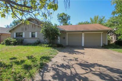 Hurst Single Family Home Active Option Contract: 745 Oakwood Avenue