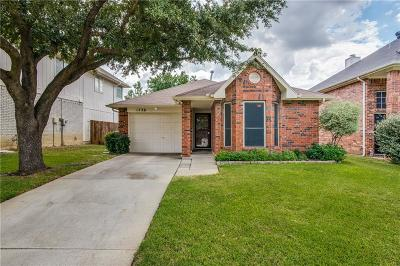 Flower Mound Single Family Home Active Option Contract: 1736 Prescott Drive