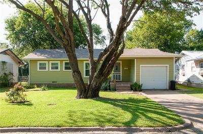 Waxahachie Single Family Home Active Option Contract: 210 Cumberland Road