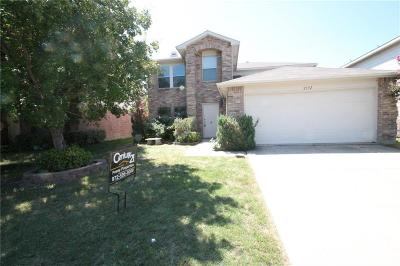 Little Elm Single Family Home Active Option Contract: 2352 White Oak Drive