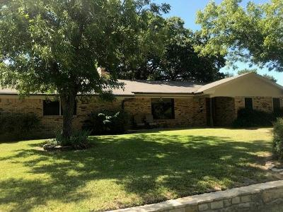 Hico Single Family Home Active Option Contract: 202 Pine Street