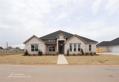 Abilene Single Family Home For Sale: 6626 Summerwood Trail