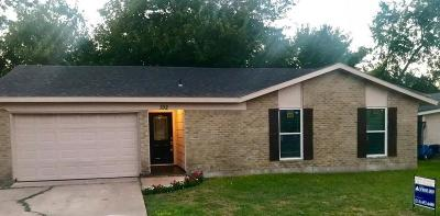Rockwall Single Family Home Active Option Contract: 192 Perch Road