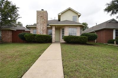 Rowlett Single Family Home Active Option Contract: 3316 E Sara Drive