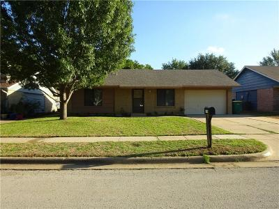 Lewisville Single Family Home Active Option Contract: 1214 Palisades Drive