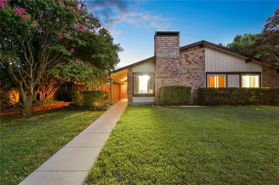 Plano Single Family Home Active Option Contract: 2612 Peppertree Place