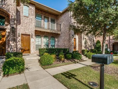 Frisco Townhouse Active Option Contract: 5659 Cecina Drive