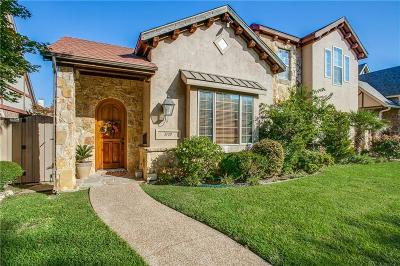 Dallas Half Duplex For Sale: 3709 W Beverly Drive