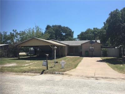 Eastland Single Family Home For Sale: 513 E Pershing Street