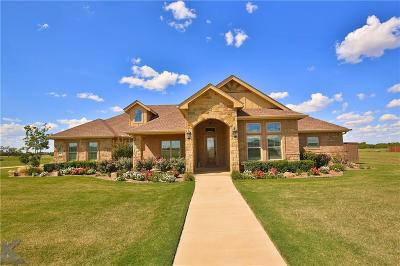 Abilene Single Family Home For Sale: 110 Tierra Court
