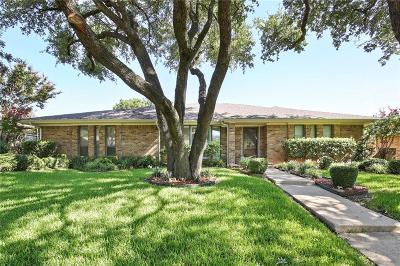 Plano Single Family Home Active Contingent: 2405 Sierra Lane