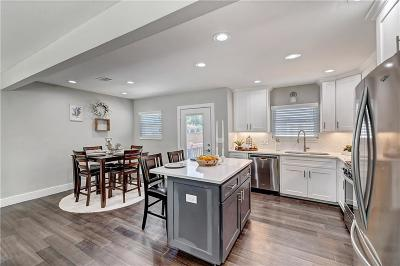 Fort Worth Single Family Home Active Option Contract: 6108 Malvey Avenue