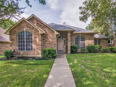 Rowlett Single Family Home Active Option Contract: 1401 Battlefield Drive