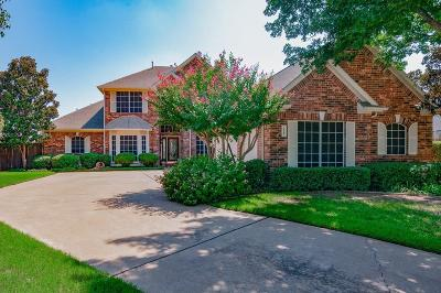 Keller Single Family Home Active Option Contract: 1547 Briar Meadow Drive