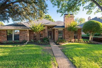 Coppell Single Family Home Active Option Contract: 753 Sparrow Lane
