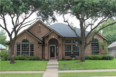 The Colony Single Family Home Active Option Contract: 3704 Meadow Run