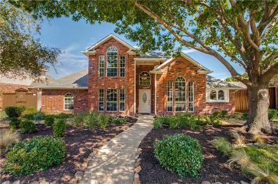 Allen Single Family Home Active Option Contract: 1011 Brookview Drive