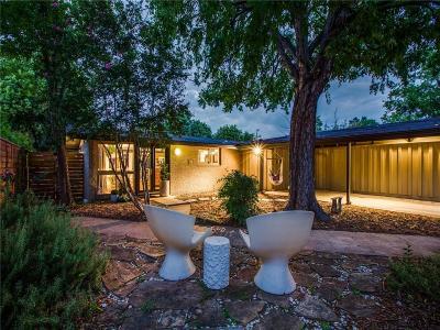 Dallas Single Family Home Active Option Contract: 2647 Andrea Lane