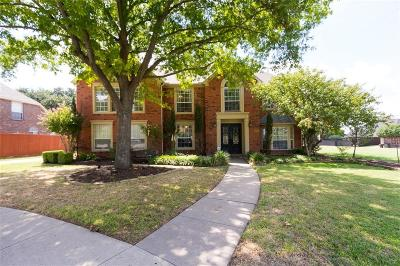 Plano Single Family Home Active Contingent: 4316 Bragg Place