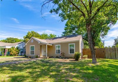 Brownwood Single Family Home Active Option Contract: 1904 Belmeade Street