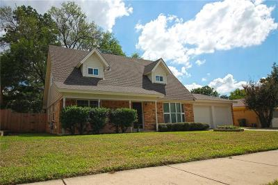 Bedford Single Family Home Active Option Contract: 1908 Chattanooga Drive