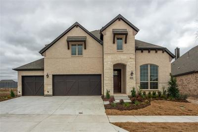 Little Elm Single Family Home For Sale: 812 Longbranch Way