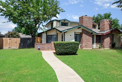 Arlington Single Family Home Active Option Contract: 1109 Royalcrest Drive