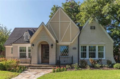 Fort Worth Single Family Home Active Option Contract: 3205 Benbrook Boulevard