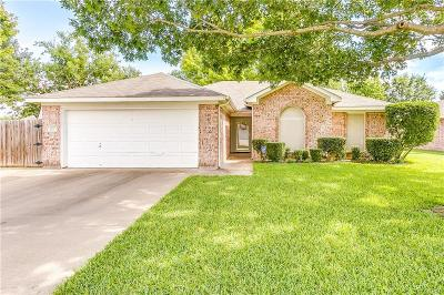 Burleson Single Family Home Active Option Contract: 1125 Margie Street
