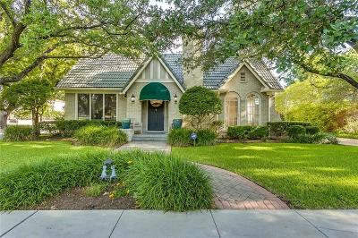 Fort Worth Single Family Home Active Option Contract: 2346 Harrison Avenue