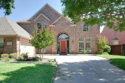 Flower Mound Single Family Home For Sale: 2804 Carterton Way