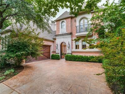 Dallas Single Family Home For Sale: 11828 Brookhill Lane