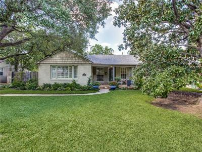 Fort Worth Single Family Home For Sale: 3712 S Hills Avenue