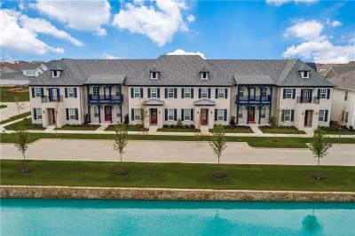 Frisco Townhouse For Sale: 3914 Cotton Gin Road