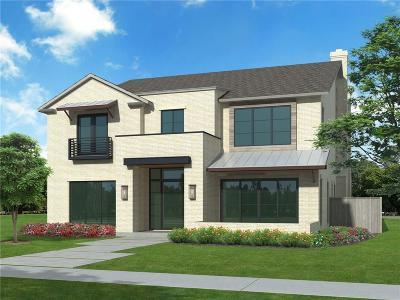 University Park Single Family Home For Sale: 4216 Caruth Boulevard