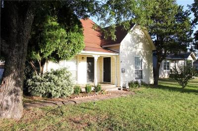 Joshua Single Family Home Active Option Contract: 207 Santa Fe Street