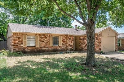 Allen Single Family Home Active Option Contract: 520 Hawthorne Drive