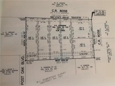 Keene Residential Lots & Land For Sale: Lot 1 C.r. 805b