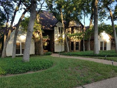 Flower Mound Single Family Home For Sale: 3612 Hidden Trail