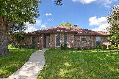 Coppell Single Family Home Active Contingent: 157 Lansdowne Circle