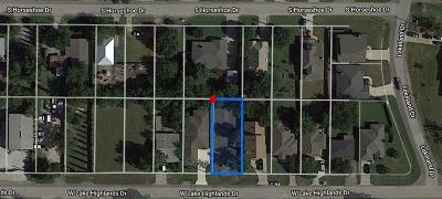 The Colony Residential Lots & Land For Sale: 4545 W Lake Highlands Drive