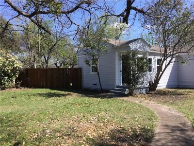 Dallas Single Family Home For Sale: 2706 S Montreal Avenue