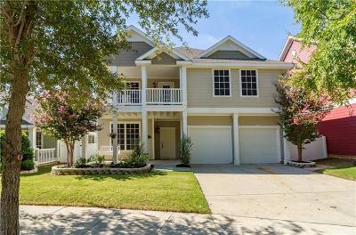 Providence Village Single Family Home Active Option Contract: 10008 Boston Harbor