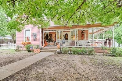 Cleburne Single Family Home Active Option Contract: 508 N Buffalo Avenue