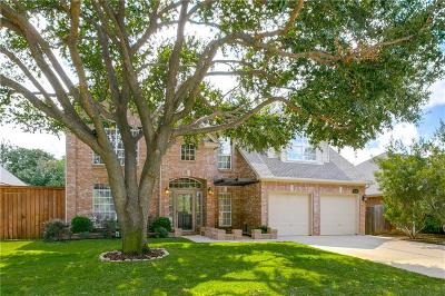 Grapevine Single Family Home For Sale: 2121 Brentcove Drive